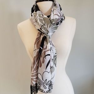 Luxurious Scarf LaLeela Brown, Green and Black